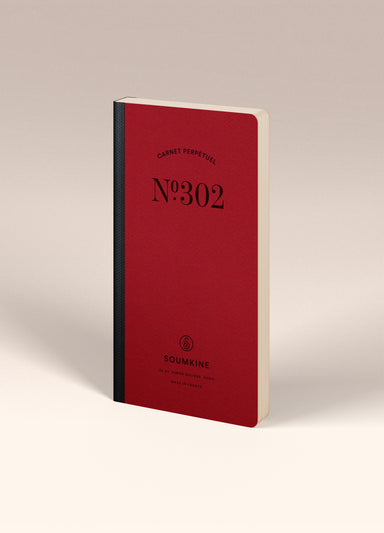 N.302 (Undated Weekly Planner). Slim / Traveler's notebook size