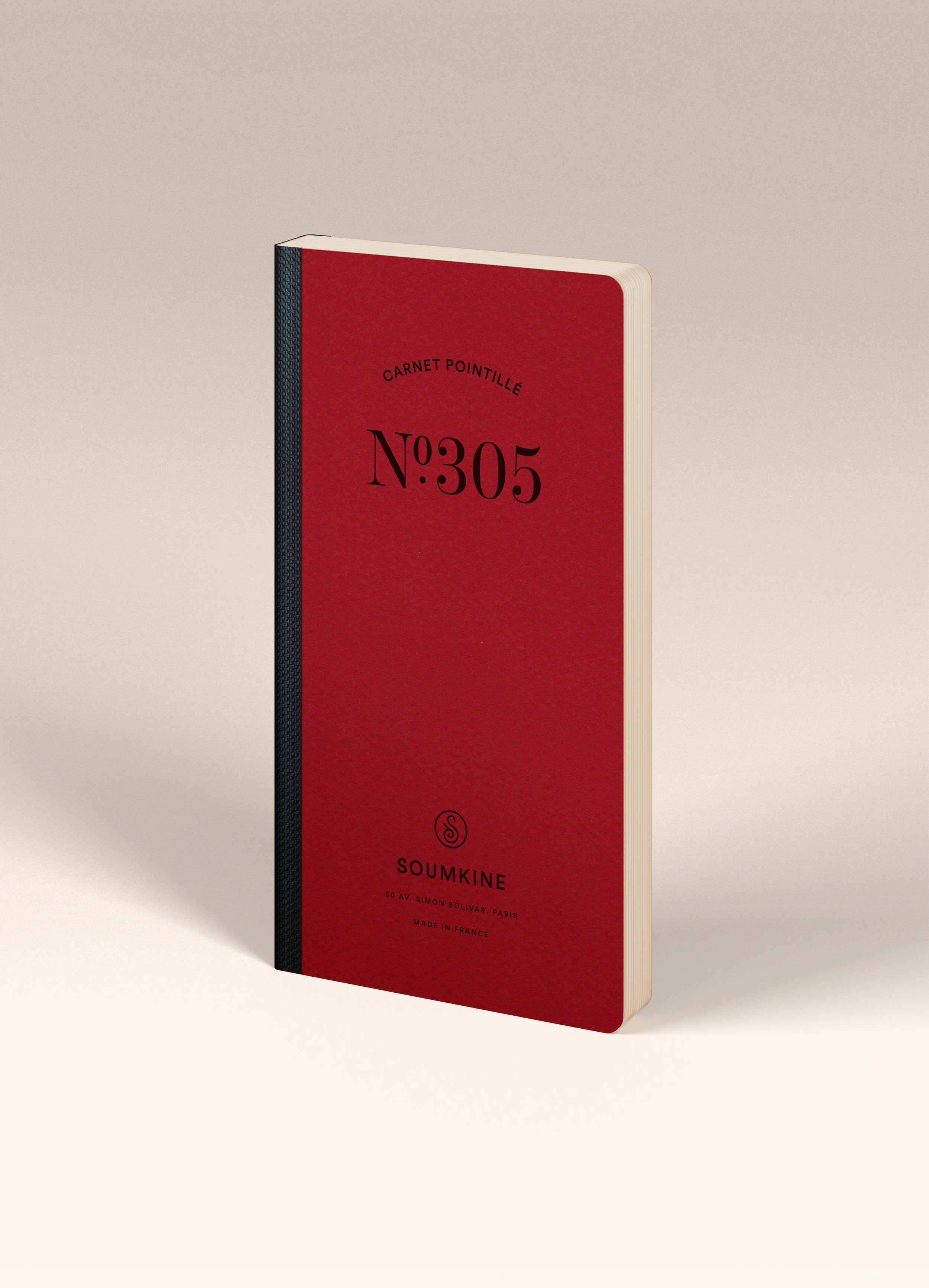 N.305 (DOTTED) Notebook. Slim / Traveler's notebook size