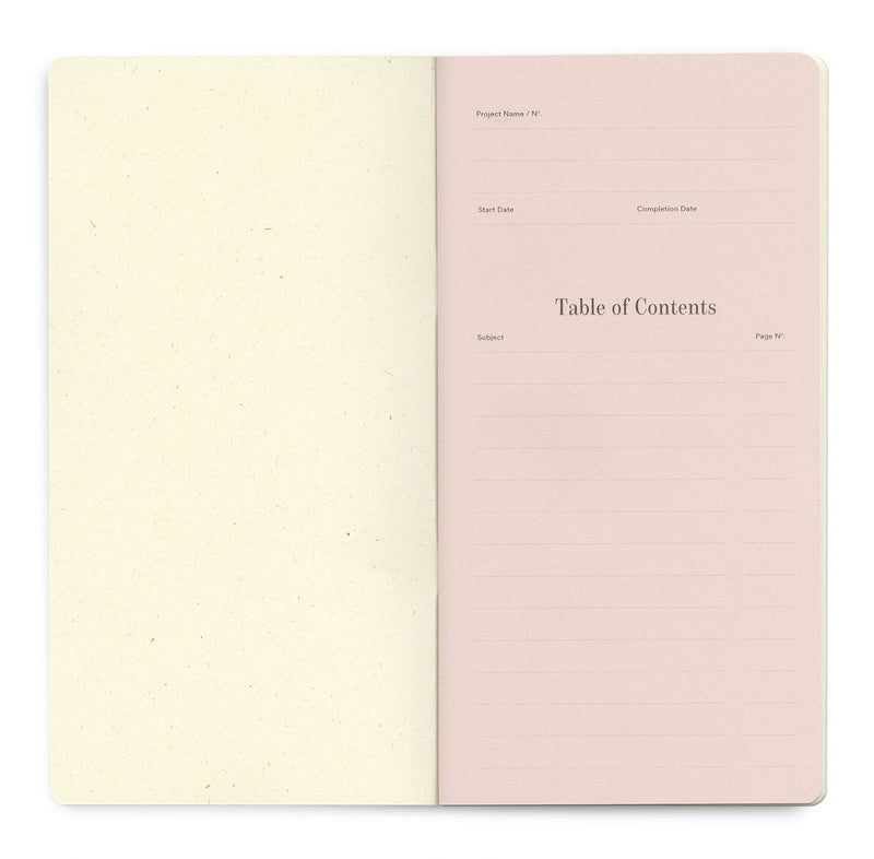 Universal 96 pages — Slim 11×21cm — Rose Color