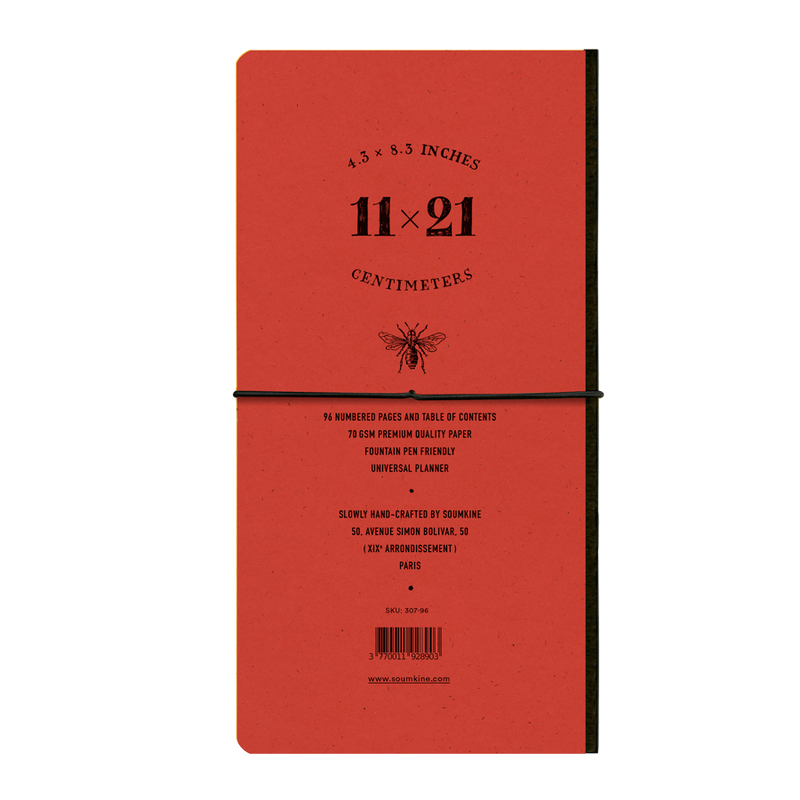 Universal 96 pages — Slim 11×21cm — Apple Color
