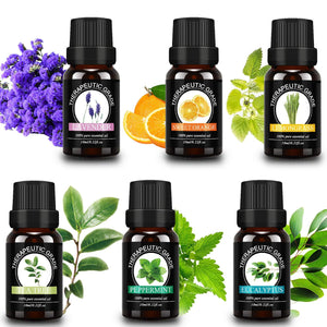 100% Pure Essential Oils (6 Pack)
