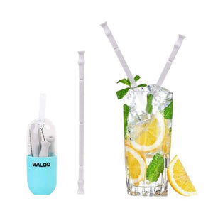 Foldable Silicone Drinking Straw