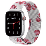 Floral Magnetic Mesh Band