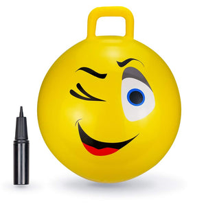 Yellow Wink Hopper Ball - 18""