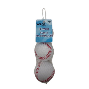 Foam Baseballs (3 or 5 Pack)