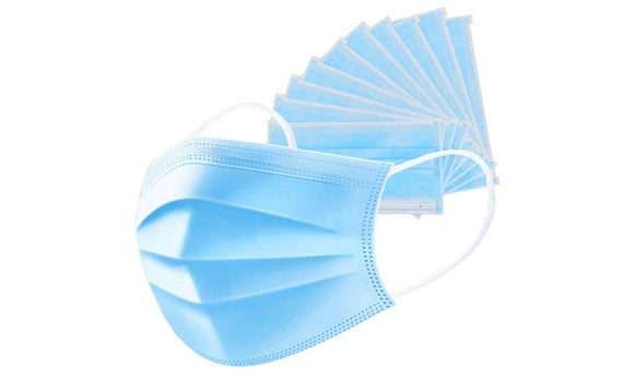 Non-Surgical 3 Layer Masks (10,20,30,40 & 50 Packs) (Ships Fast!!)