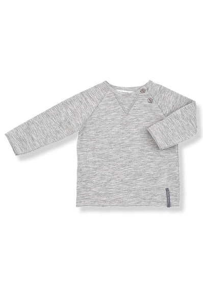 1 + in the family Elliot LS T-Shirt light grey