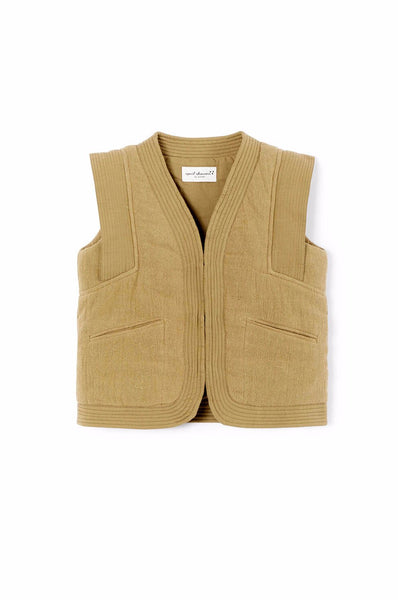 April Showers Twiggy Vest Green Tea
