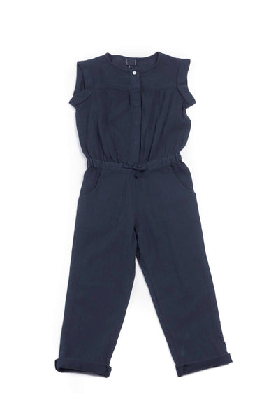 Bonton Paris Jumpsuit Crepon Marine