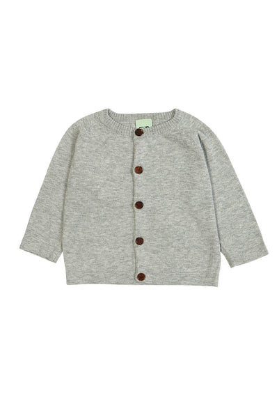 FUB Cardigan SS18 light grey