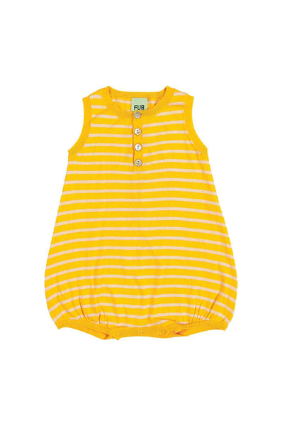 FUB Baby Romper Suit yellow/ecru
