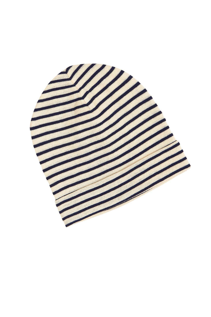 FUB Striped Hat ecru/navy
