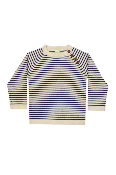 Sweater Ecru/Navy FUB