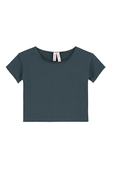 Gray Label Baby Tee Blue Grey