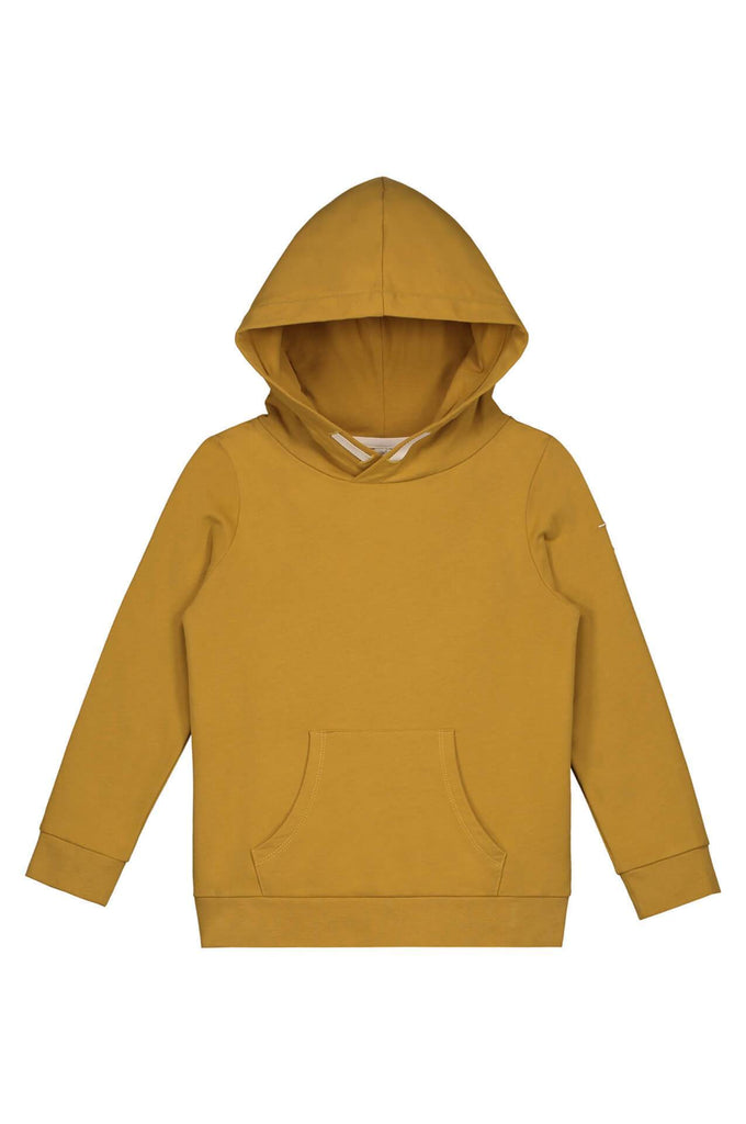 Classic Hooded Sweater Mustard Gray Label