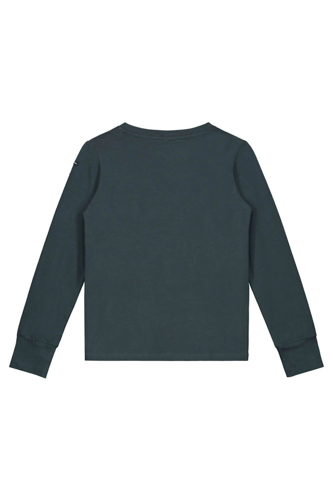 Gray Label L/S Tee with Thumbhole Blue Grey