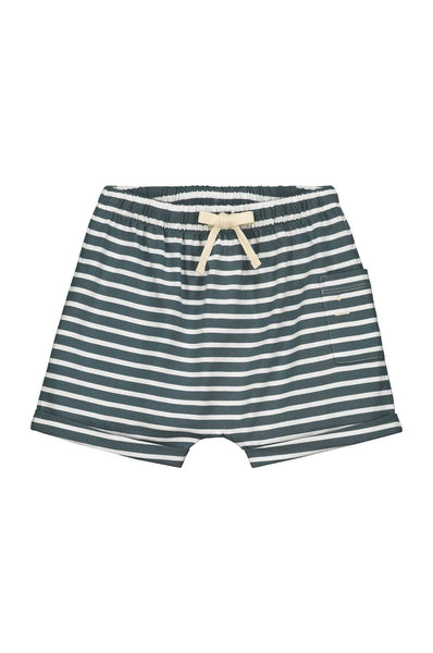 Gray Label One Pocket Shorts Blue Grey/White Stripe