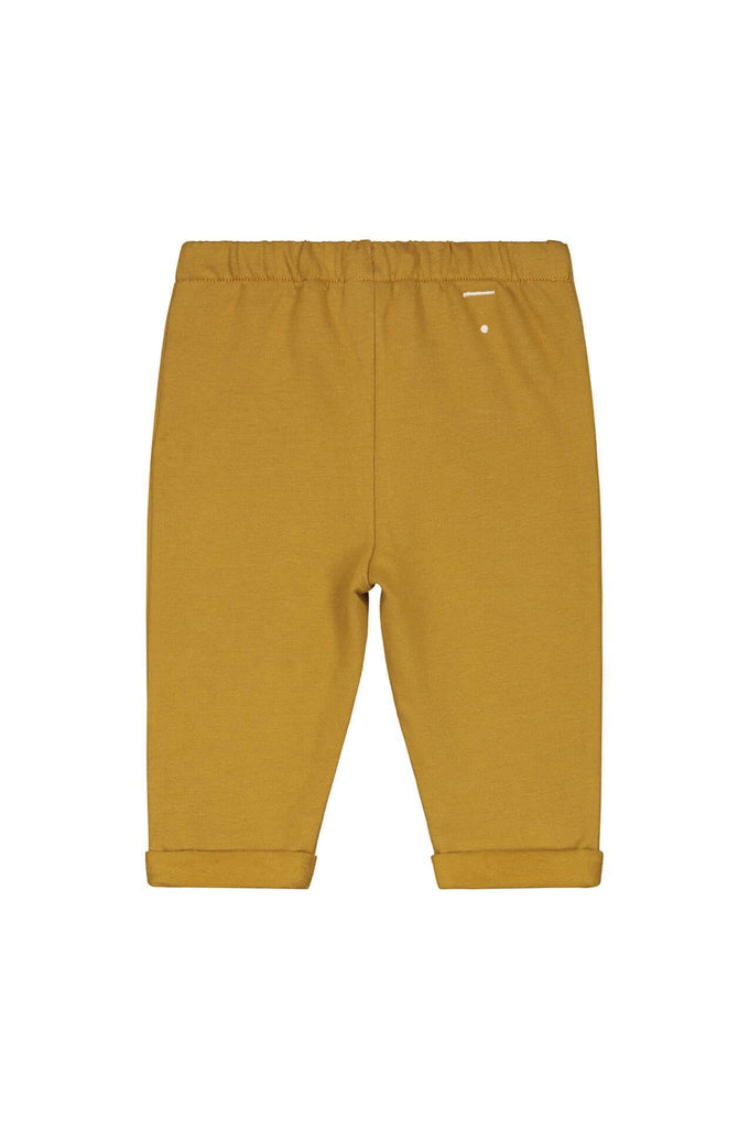 Gray Label Baby Pleated Trousers Mustard