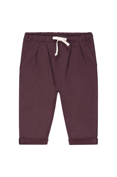 Gray Label Baby Pleated Trousers Plum