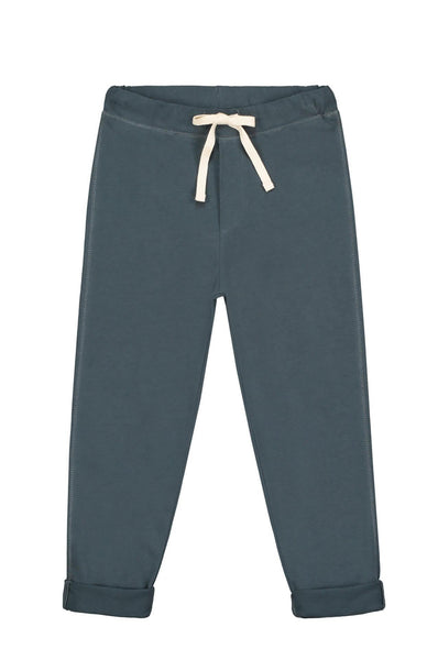 Gray Label Relaxed Jersey Pants Blue Grey