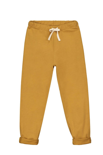 Gray Label Relaxed Jersey Pants Mustard