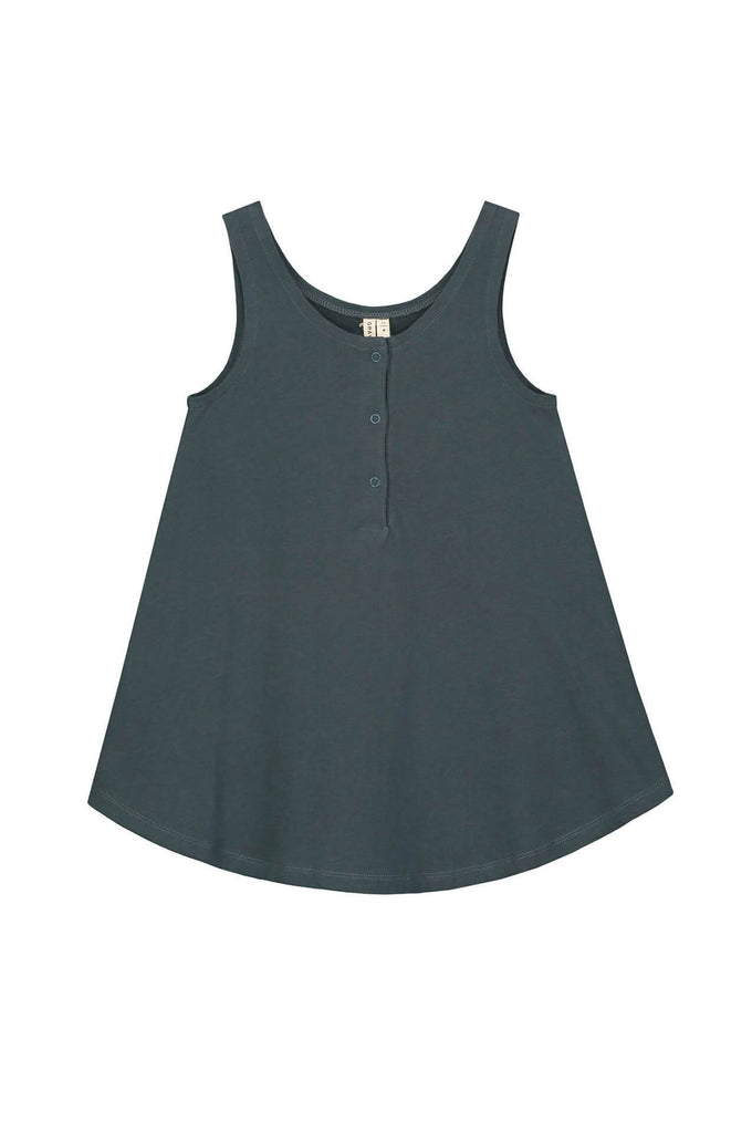 Gray Label Tank Dress Blue Grey