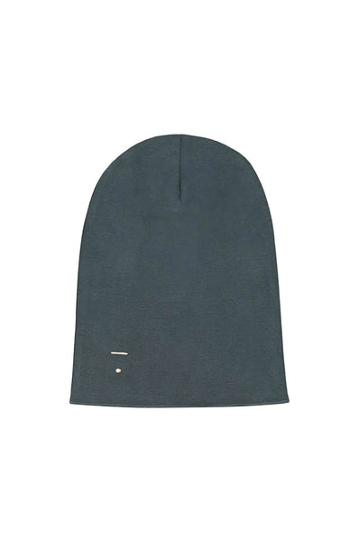Gray Label Beanie Blue Grey