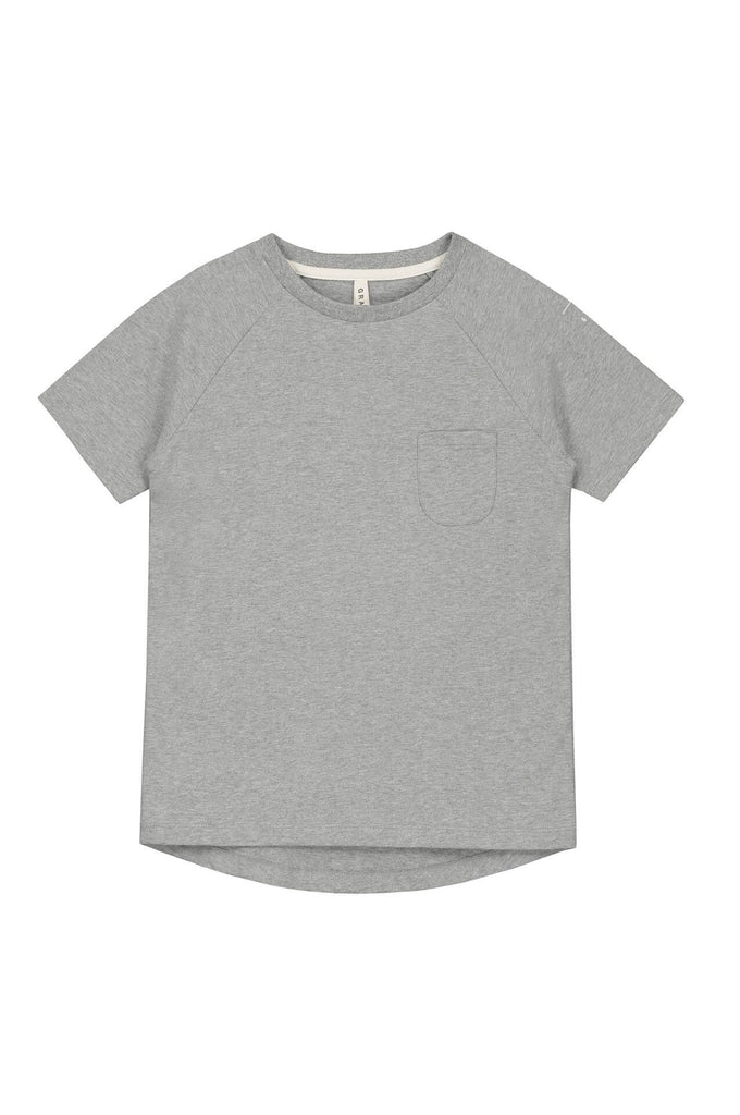 Gray Label Classic Crewneck Tee IMPROVED FIT Grey Melange