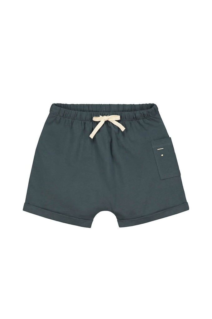 Gray Label One Pocket Shorts Blue Grey