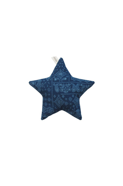 Indigo Star Mini Cushion