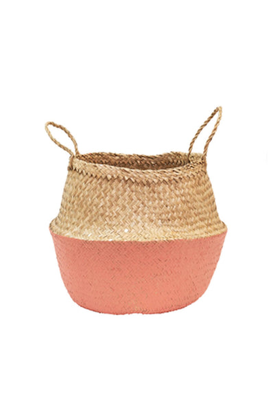 Olli Ella  Coral Dipped Belly Basket - Medium