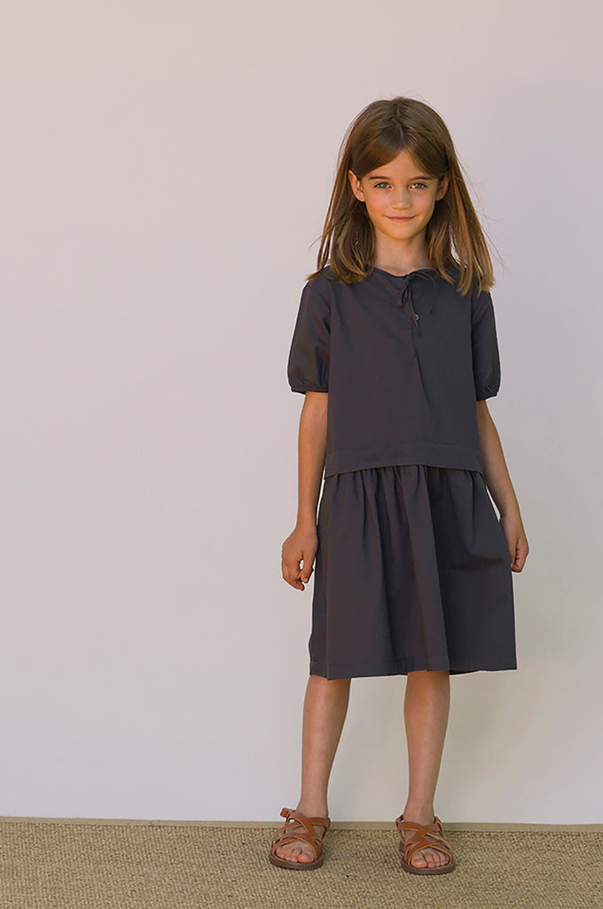 Omibia DUCHESS dress anchor grey