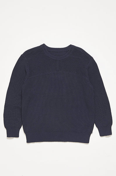 Repose AMS Dark Night Blue Knit Sweater