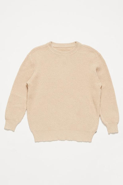 Natural Sand Knit Sweater Repose AMS