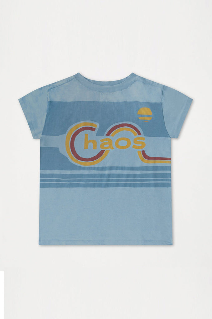 Repose AMS WHEATHERED DREAMY BLUE TEE SHIRT