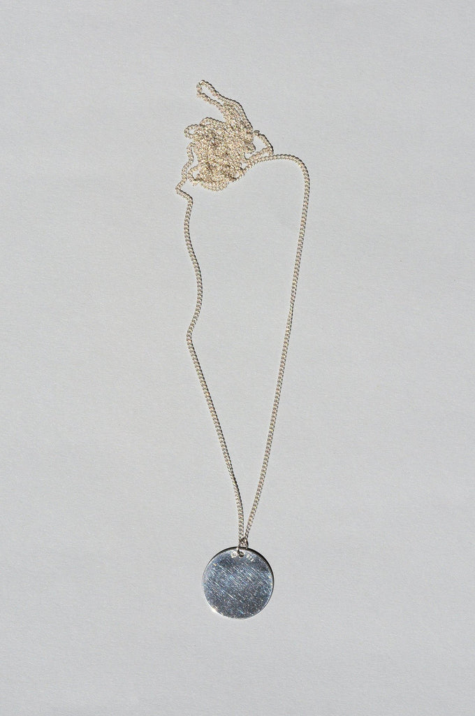 Paillettes Necklace Silver