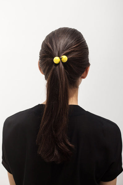 Hair Tie Lacquered Wood Saskia Diez