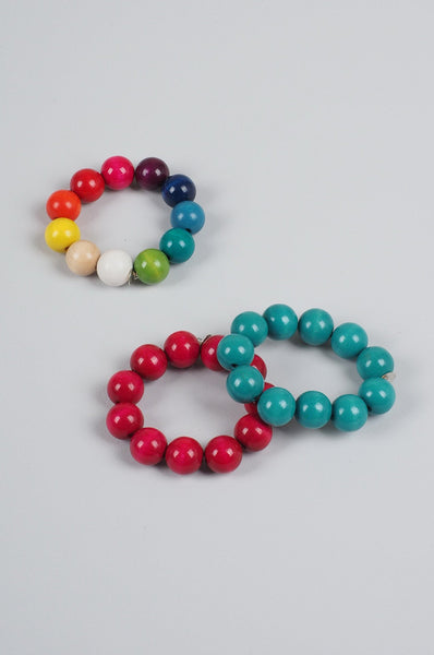 Kids Bracelet Lacquered Wood