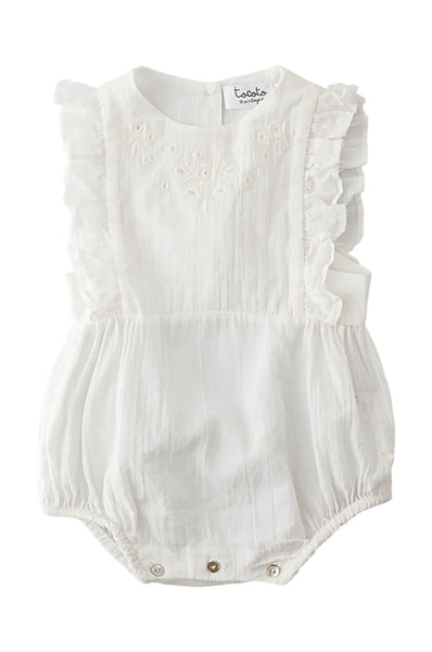 Tocoto Vintage  Baby Body embroidered