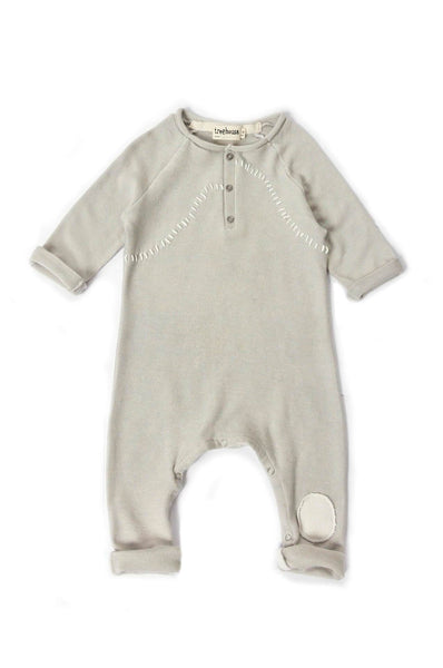 Treehouse Oniko onesie light grey