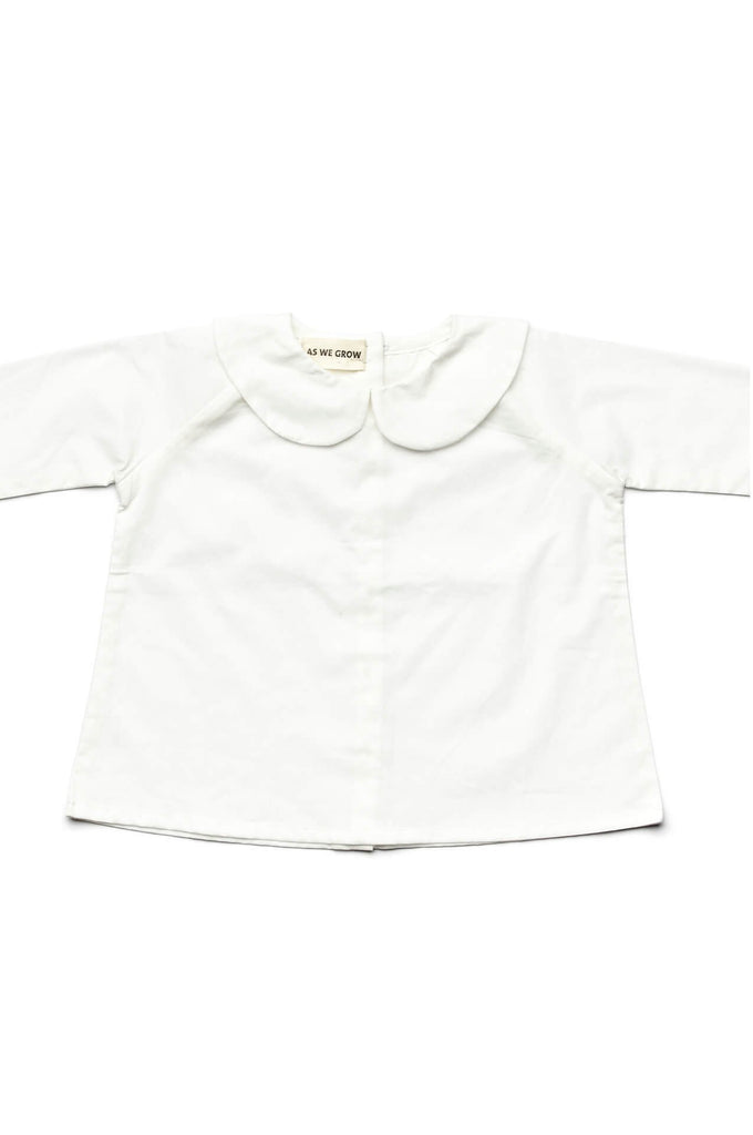Peter Pan Shirt White