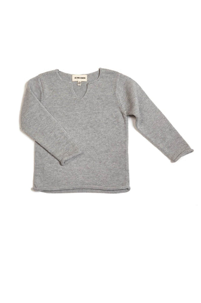 AS WE GROW VIKING SWEATER GREY