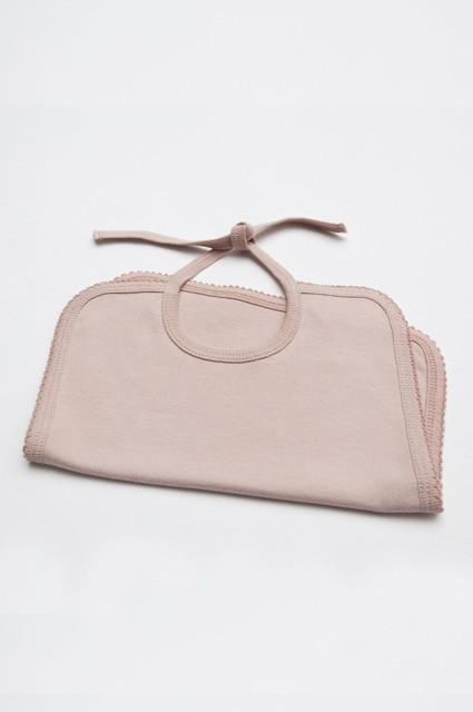 The Classic Bib in faded-pink