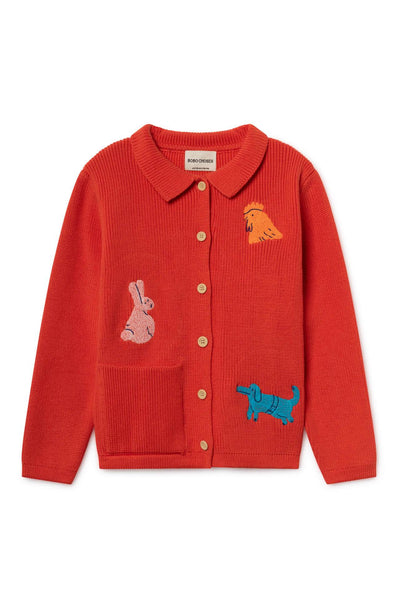Bobo Choses Animals Cardigan