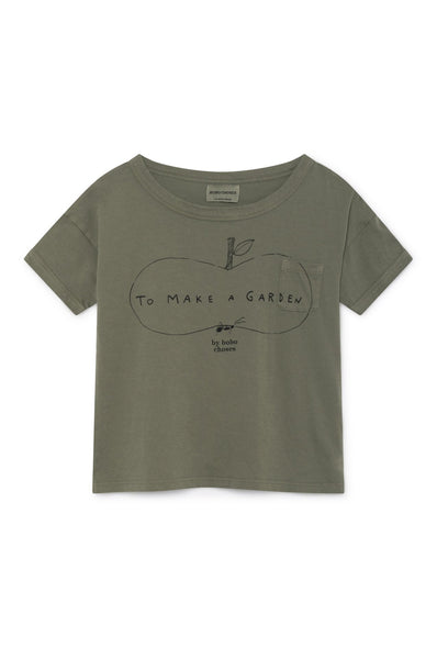Bobo Choses Ant and Apple Short Sleeve T-Shirt