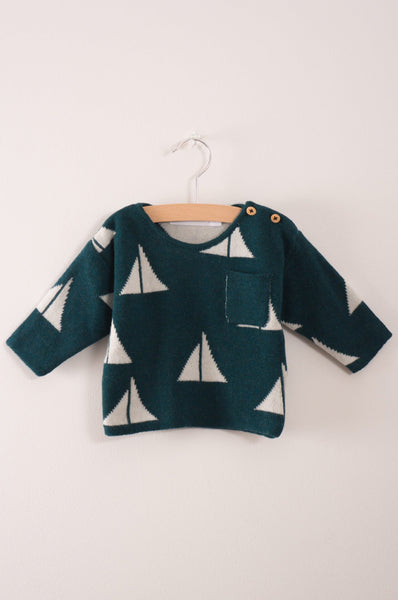 Bobo Choses Alma S Knitted Baby Jumper
