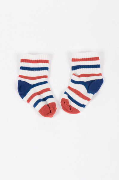 Bobo Choses Tennis Baby Socks Stripes