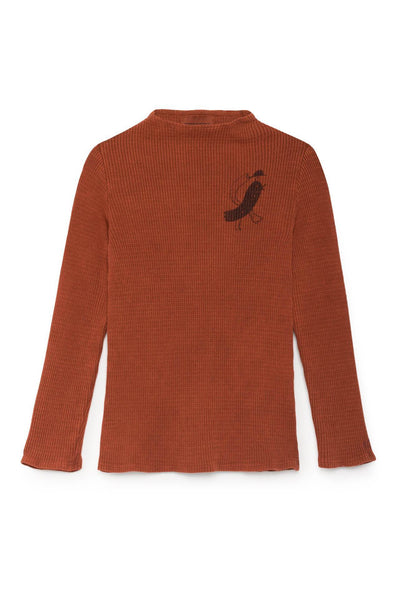 Bird Turtle Neck T-Shirt Bobo Choses