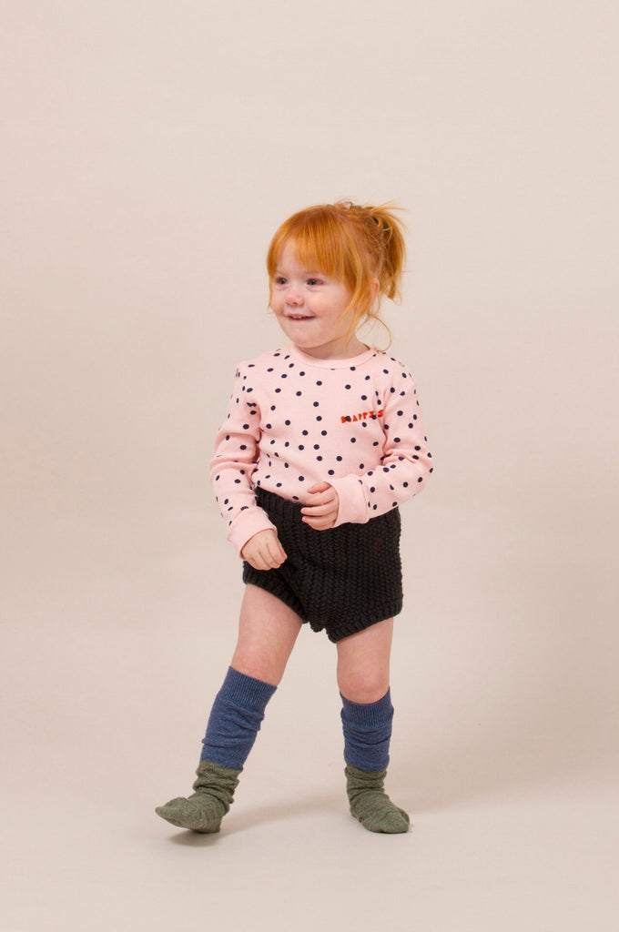 Bobo Choses Blue and Green Long Socks