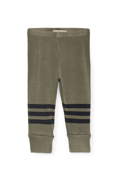 Blue Stripes Leggings Baby Bobo Choses